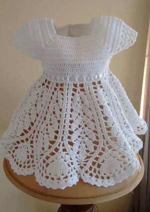 Fresh [free Pattern] Dress Up Your Little Girl In This Gorgeous Crochet Little Girl Dress Of Awesome 44 Images Crochet Little Girl Dress