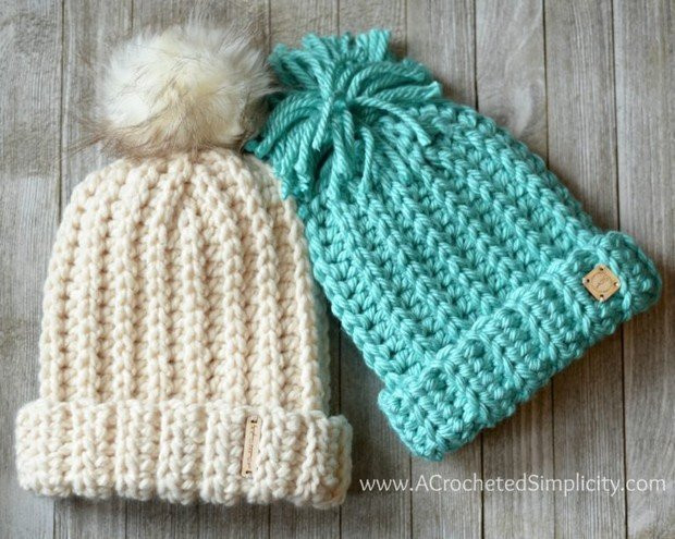 [FREE Patterns] This Fabulous Knit Like Crochet Slouch Hat