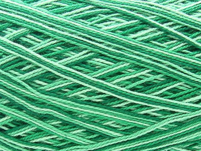 Fresh Free Ship Clea Variegated Green Size 10 Crochet Cotton Thread Green Variegated Yarn Of Beautiful 50 Pics Green Variegated Yarn