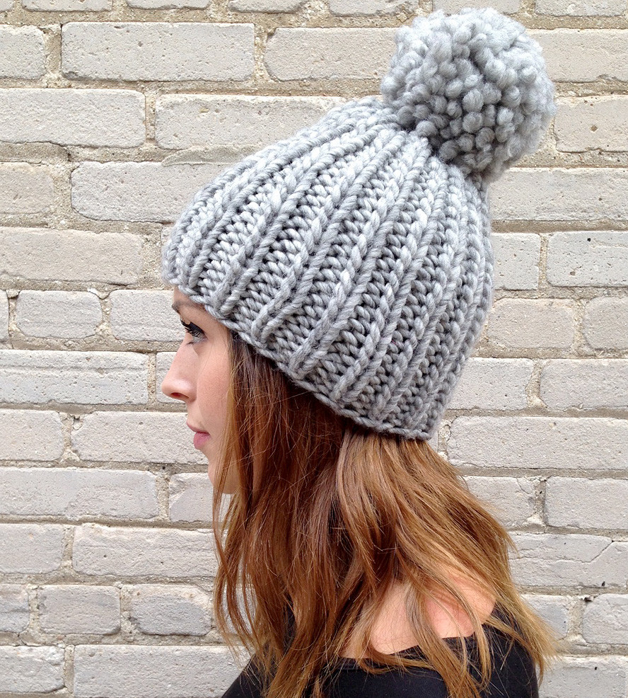 Fresh Giant Pompom Chunky Knit Hat Chunky Knit Hat Of Delightful 46 Pictures Chunky Knit Hat