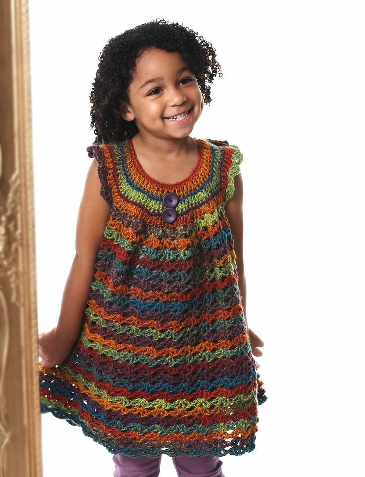 Fresh Girl S Lace Pinafore Yarn Crochet Girl Dress Of Awesome 46 Images Crochet Girl Dress