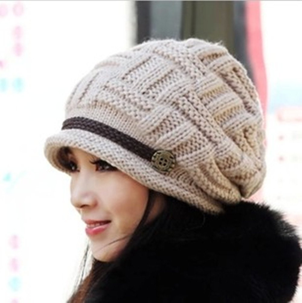 Fresh Gorgeous Women S Knitted Crochet Slouch Baggy Beanies Just Ladies Knitted Hats Of Adorable 50 Pictures Ladies Knitted Hats