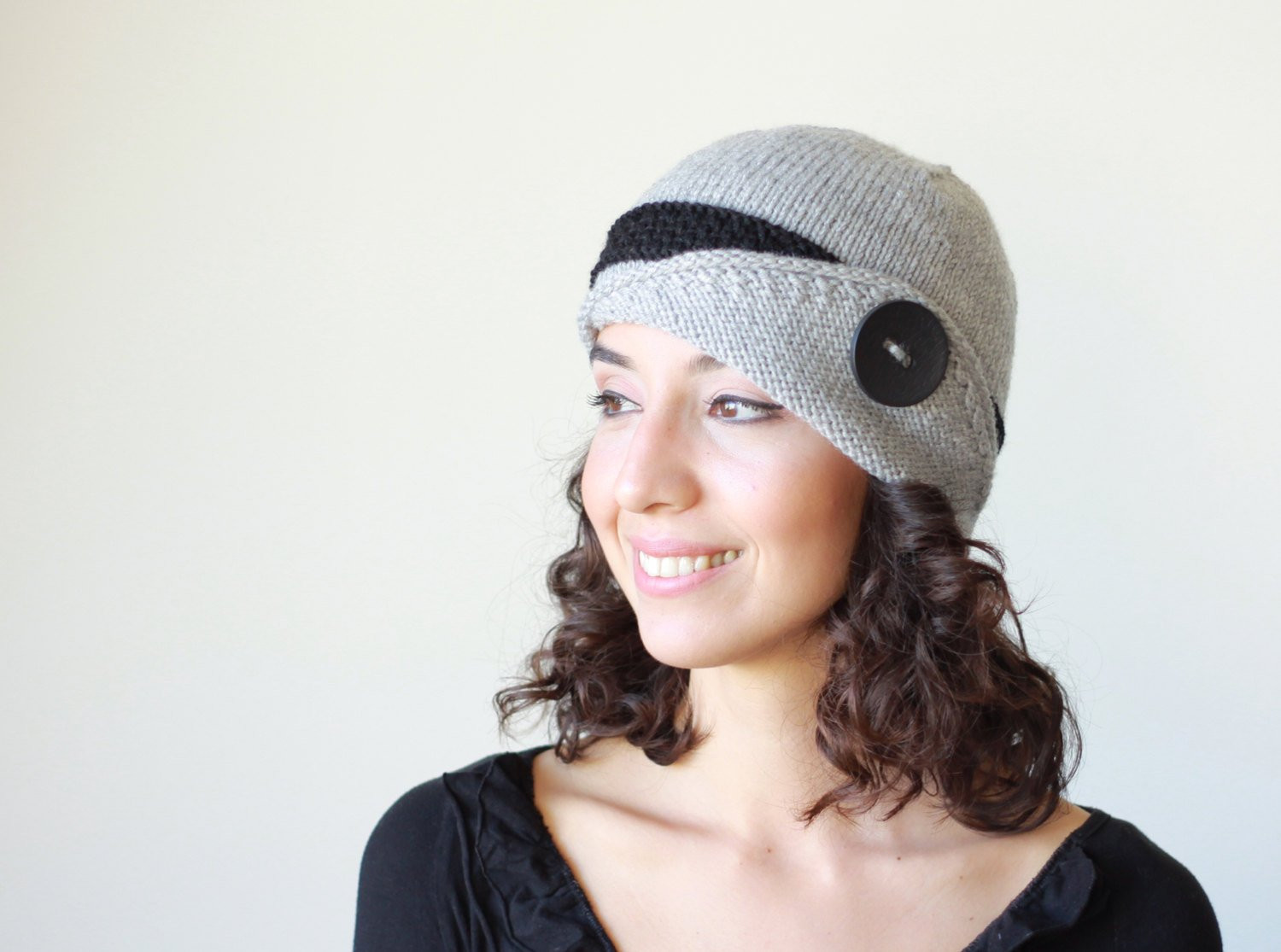 Fresh Grey Knit Hat Womens Knit Hat Lucy Hat Grey Winter Beanie Ladies Knitted Hats Of Adorable 50 Pictures Ladies Knitted Hats