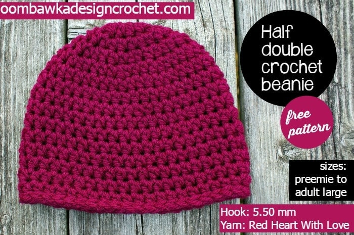 Fresh Half Double Crochet Basic Beanie My Most Requested Hat Double Crochet Hat Of Great 43 Models Double Crochet Hat