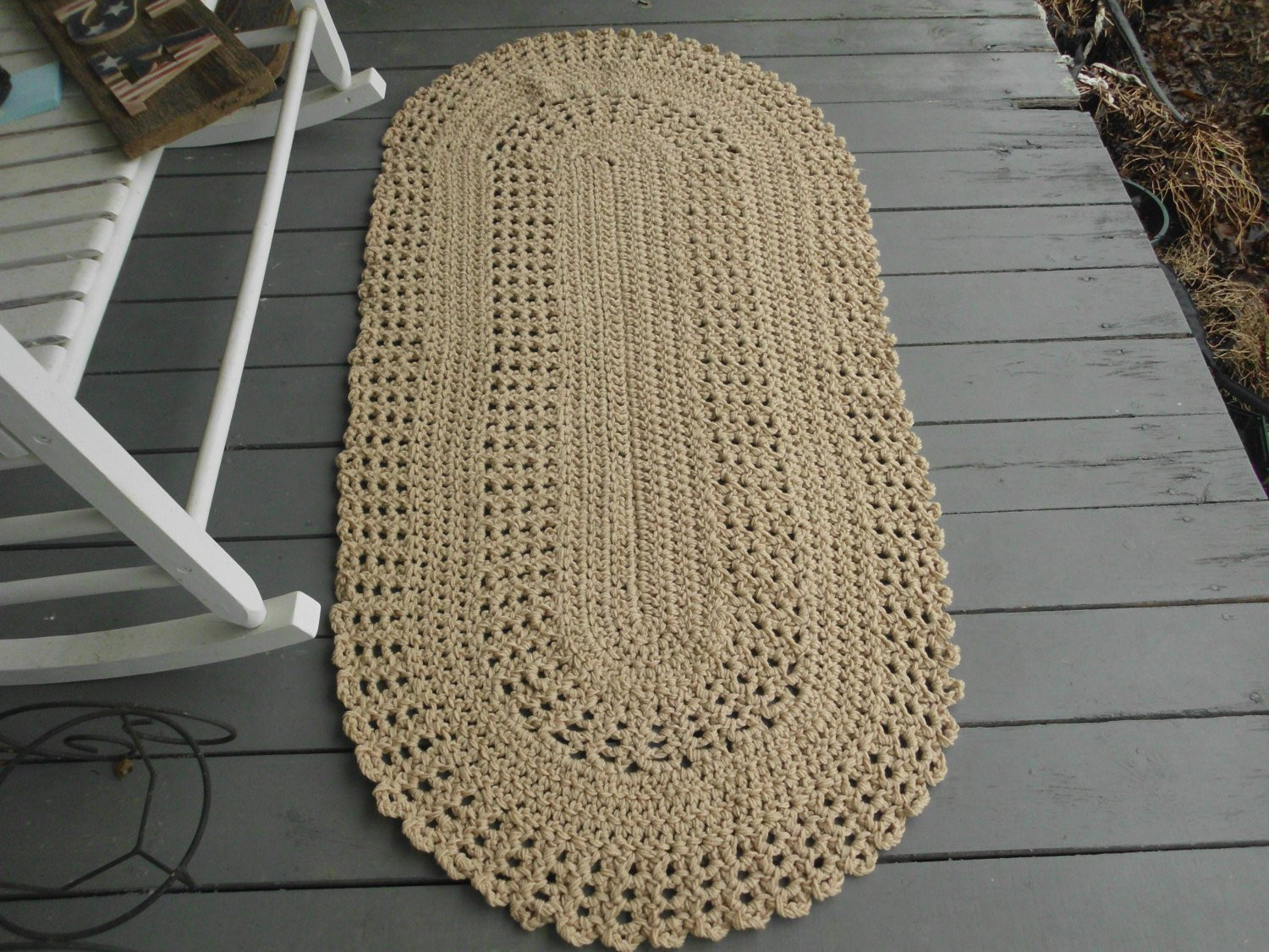 Fresh Hand Crocheted Floor Doily Rug Porch Doily Accent Rug Porch Hand Crochet Rug Of Contemporary 41 Models Hand Crochet Rug