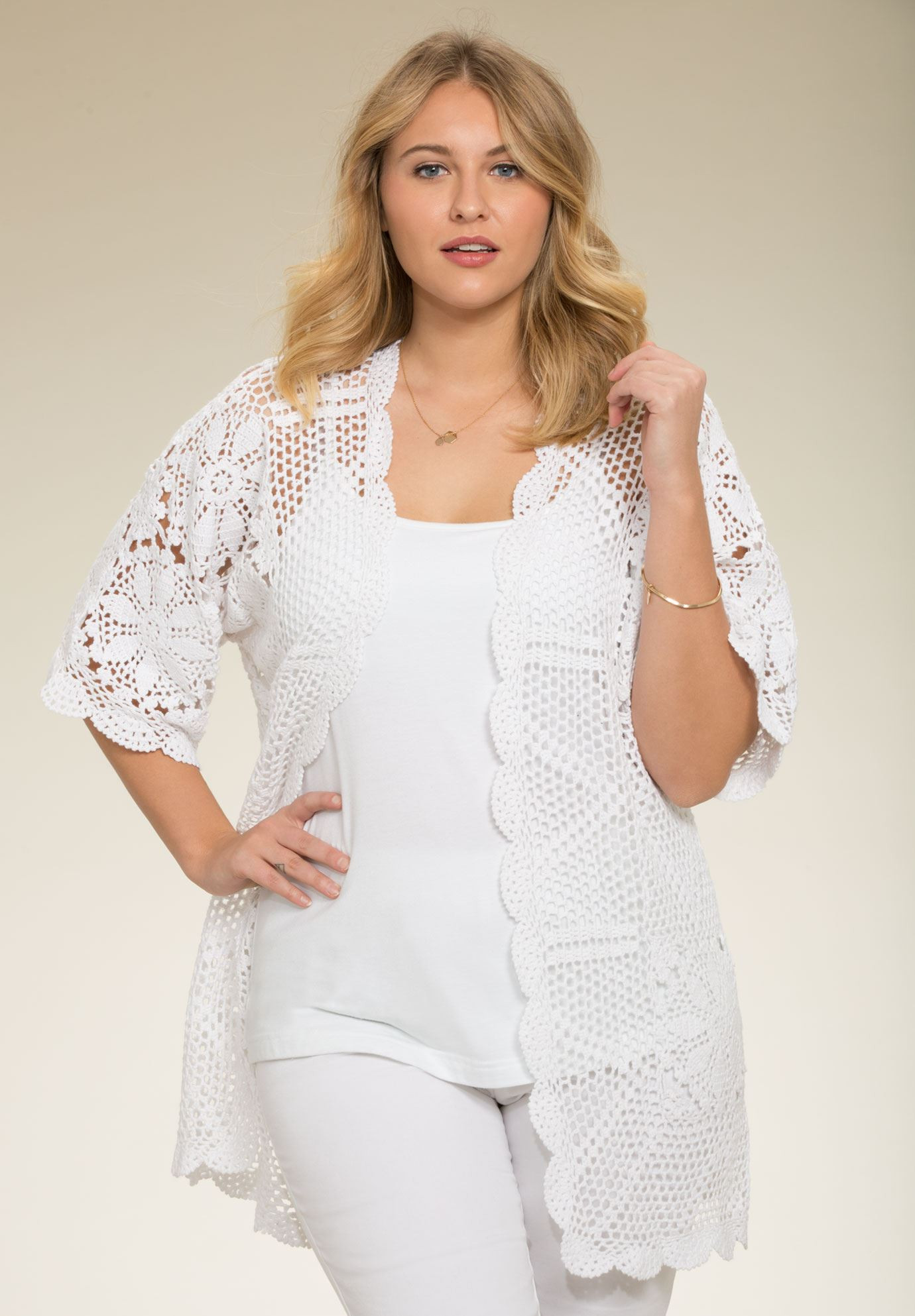 Fresh Hand Crocheted Lace Cardigan Plus Size Cardigans White Crochet Cardigans Of Delightful 41 Images White Crochet Cardigans