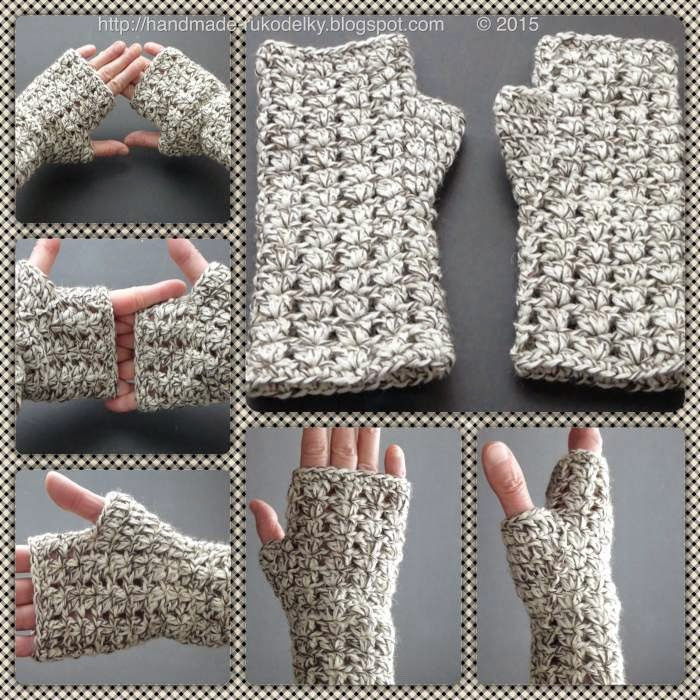 Fresh Hand Made Rukodelky Crocheted Simple Fingerless Gloves S M Easy Fingerless Gloves Crochet Pattern Of Innovative 49 Photos Easy Fingerless Gloves Crochet Pattern
