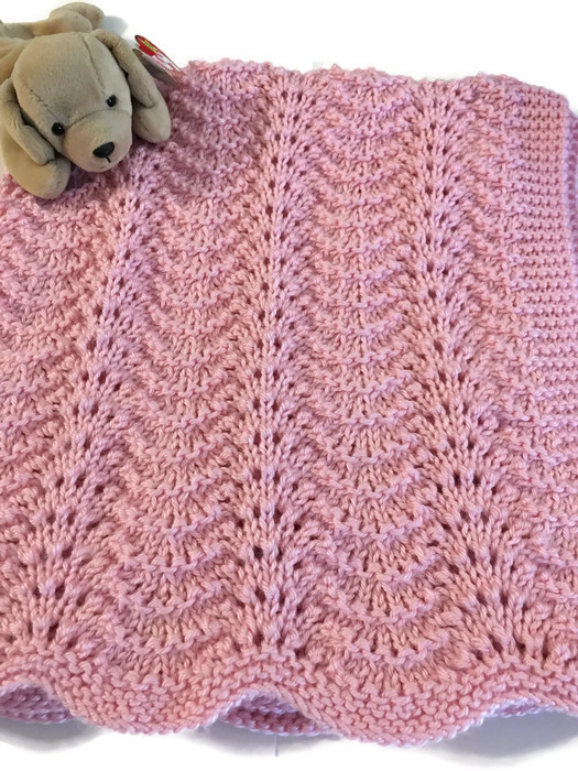 Fresh Handknit Baby Blanket New Girl Receiving Lace Caron Simply Caron Baby Yarn Of Superb 49 Ideas Caron Baby Yarn