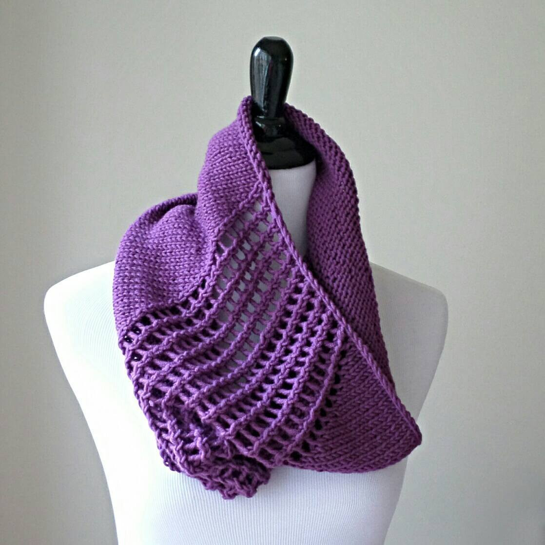 Fresh Handknit Infinity Scarf Women S Lace Cowl In Purple Lace Infinity Scarf Of Charming 45 Ideas Lace Infinity Scarf