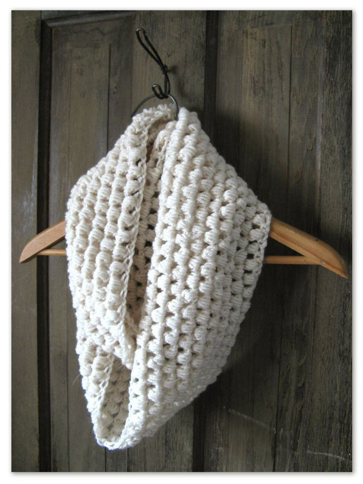 Fresh Happy as A Lark Crocheting A Puff Stitch Infinity Scarf Puff Crochet Of Great 49 Ideas Puff Crochet