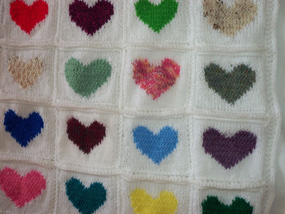 Fresh Heart Square Knitting Pattern Ecocreate Knitted Square Patterns Of Lovely 50 Models Knitted Square Patterns