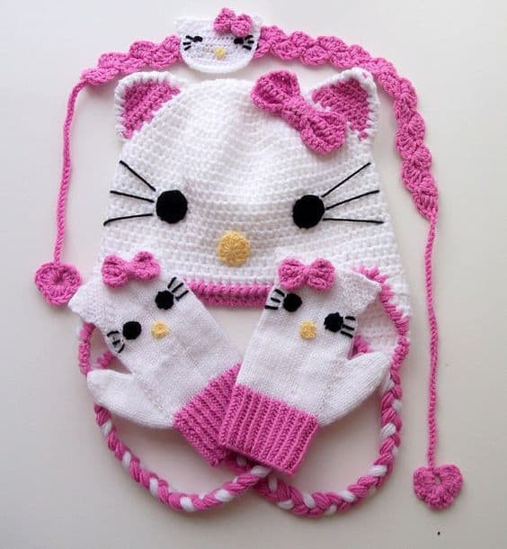 Fresh Hello Kitty Crochet Hat Pattern Free Video Tutorial Hello Kitty Crochet Pattern Of Luxury 47 Images Hello Kitty Crochet Pattern