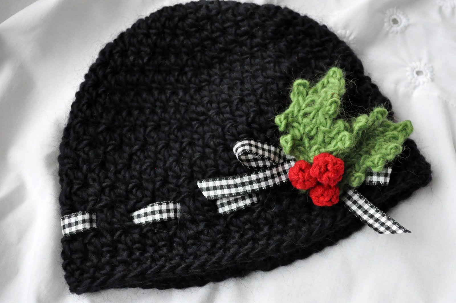 Fresh Holly Berries Baby Hat and the Paige Scarf Crochet Crochet Christmas Hats Of Beautiful 46 Images Crochet Christmas Hats