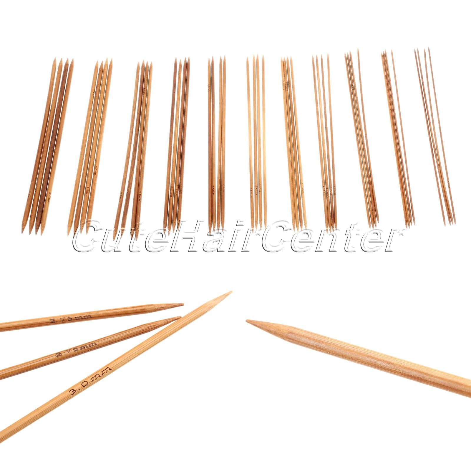 Fresh Hot Sale 55pcs 11sizes Double Pointed Carbonized Bamboo Double Pointed Knitting Needles Of Lovely 40 Ideas Double Pointed Knitting Needles