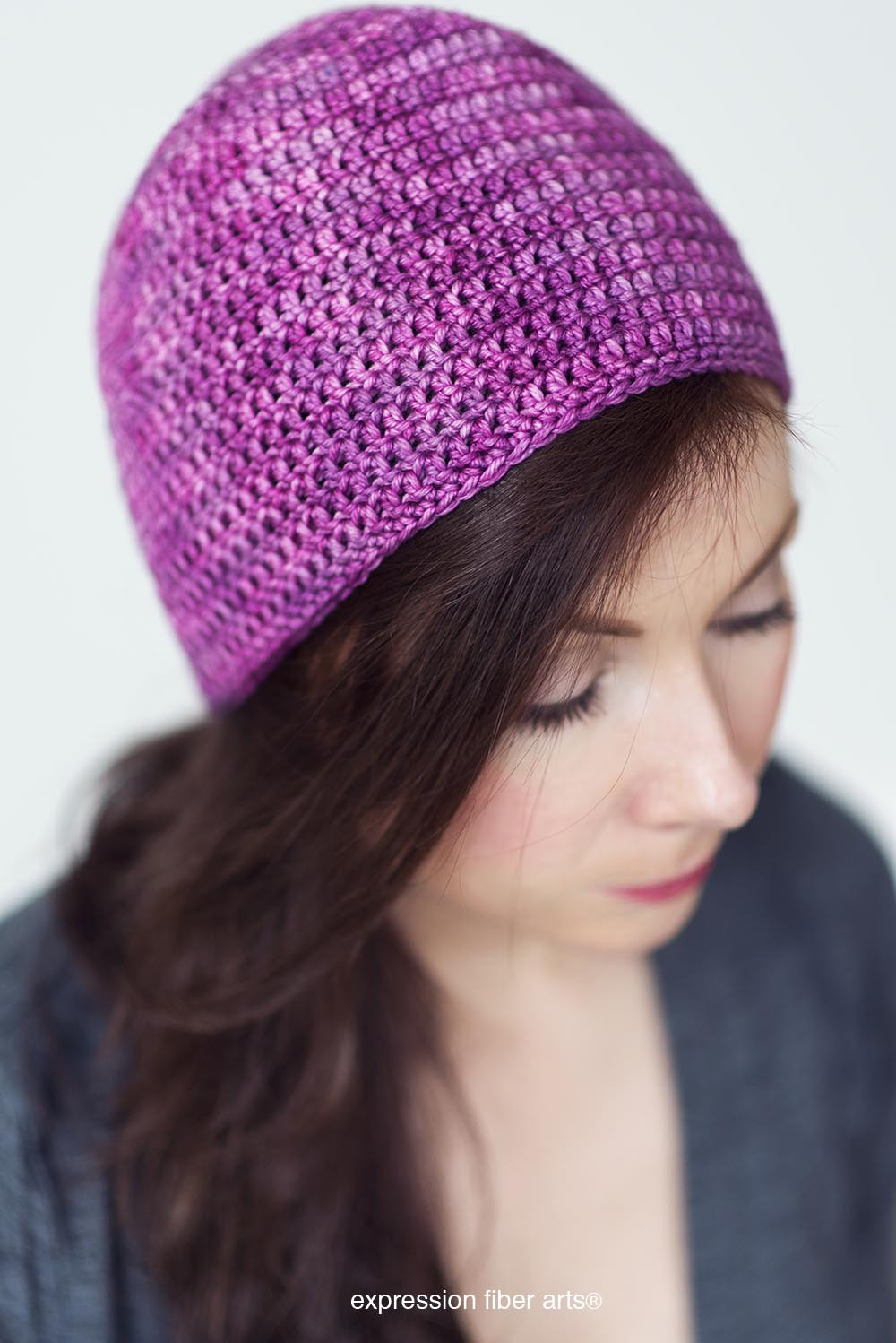 Fresh How to Crochet A Beanie – for Beginners – Expression Fiber Basic Crochet Hat Pattern Of Innovative 48 Images Basic Crochet Hat Pattern