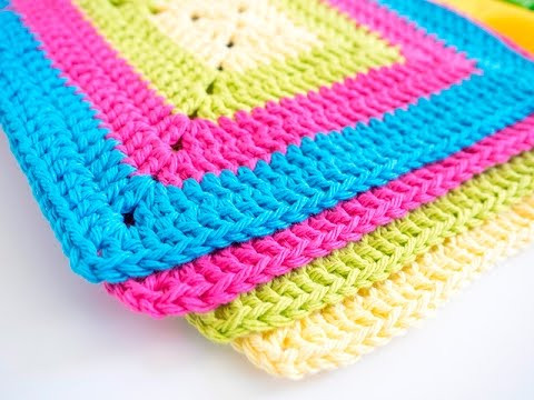 Fresh How to Crochet A Cupcake Dish Cloth Easy Granny Square Pattern Of Amazing 41 Pictures Easy Granny Square Pattern
