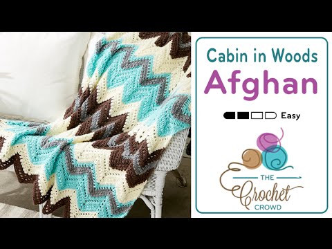 Fresh How to Crochet A Wave Afghan Cabin In the Woods Afghan Crochet Youtube Of Luxury 40 Pictures Afghan Crochet Youtube