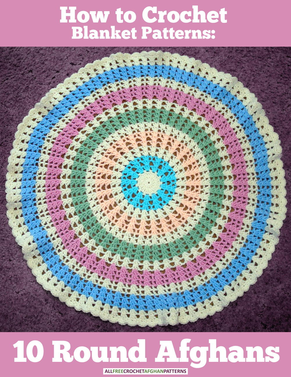Fresh How to Crochet Blanket Patterns 10 Round Afghans All Free Crochet Patterns Of Wonderful 50 Pictures All Free Crochet Patterns