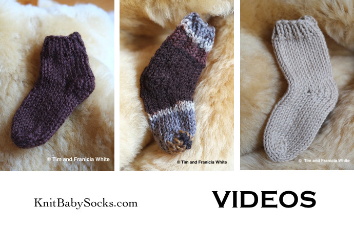 How To Knit Baby Booties Double Pointed Needles