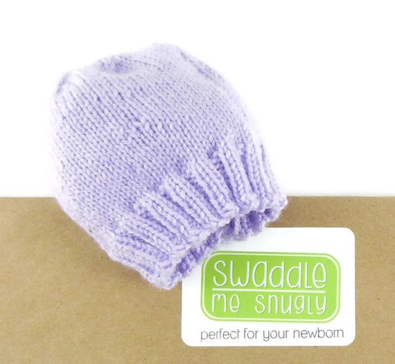 Fresh Infant Hospital Hat Lavender Knit Hat Newborn Baby Hat Knitting Baby Hats for Hospitals Of Beautiful 50 Pics Knitting Baby Hats for Hospitals