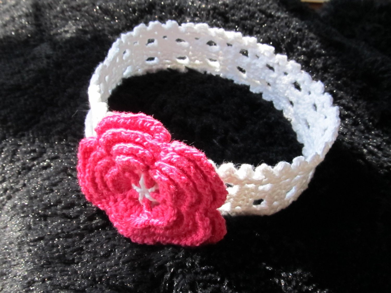 Fresh Instant Download Crochet Pattern 8 Cotton Headband for A Baby Stretchy Crochet Baby Headband Pattern Of Top 48 Images Stretchy Crochet Baby Headband Pattern