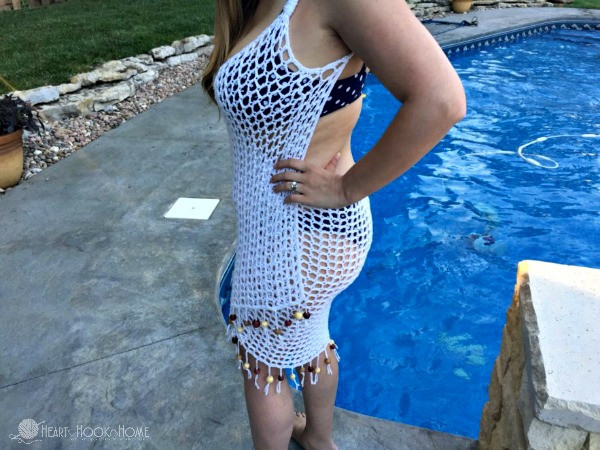 It s a Wrap Free Swimsuit Cover Up Crochet Pattern