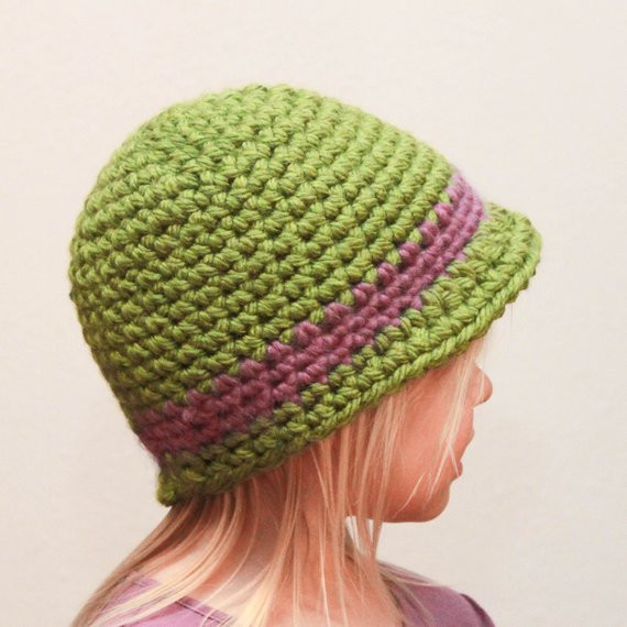 Fresh Items Similar to Crochet Hat Pattern Super Easy Cloche Easy Crochet Hat Patterns for Adults Of Delightful 48 Photos Easy Crochet Hat Patterns for Adults