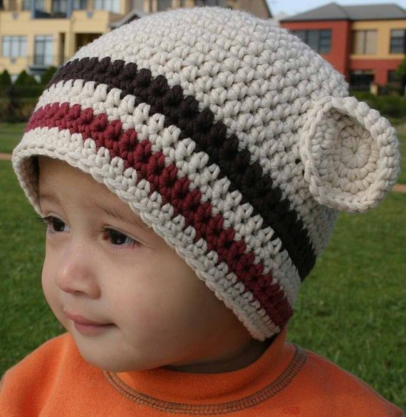 Items similar to Hat Crochet Pattern Boys Easy Peasy