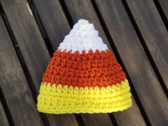 Fresh Items Similar to Newborn Candy Corn Knit Crochet Hat Candy Corn Hat Of Incredible 42 Pictures Candy Corn Hat