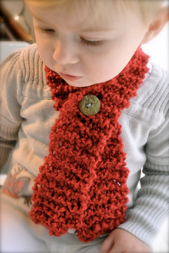"""Items similar to Toddler Baby Scarf with Button """"Cozy"""