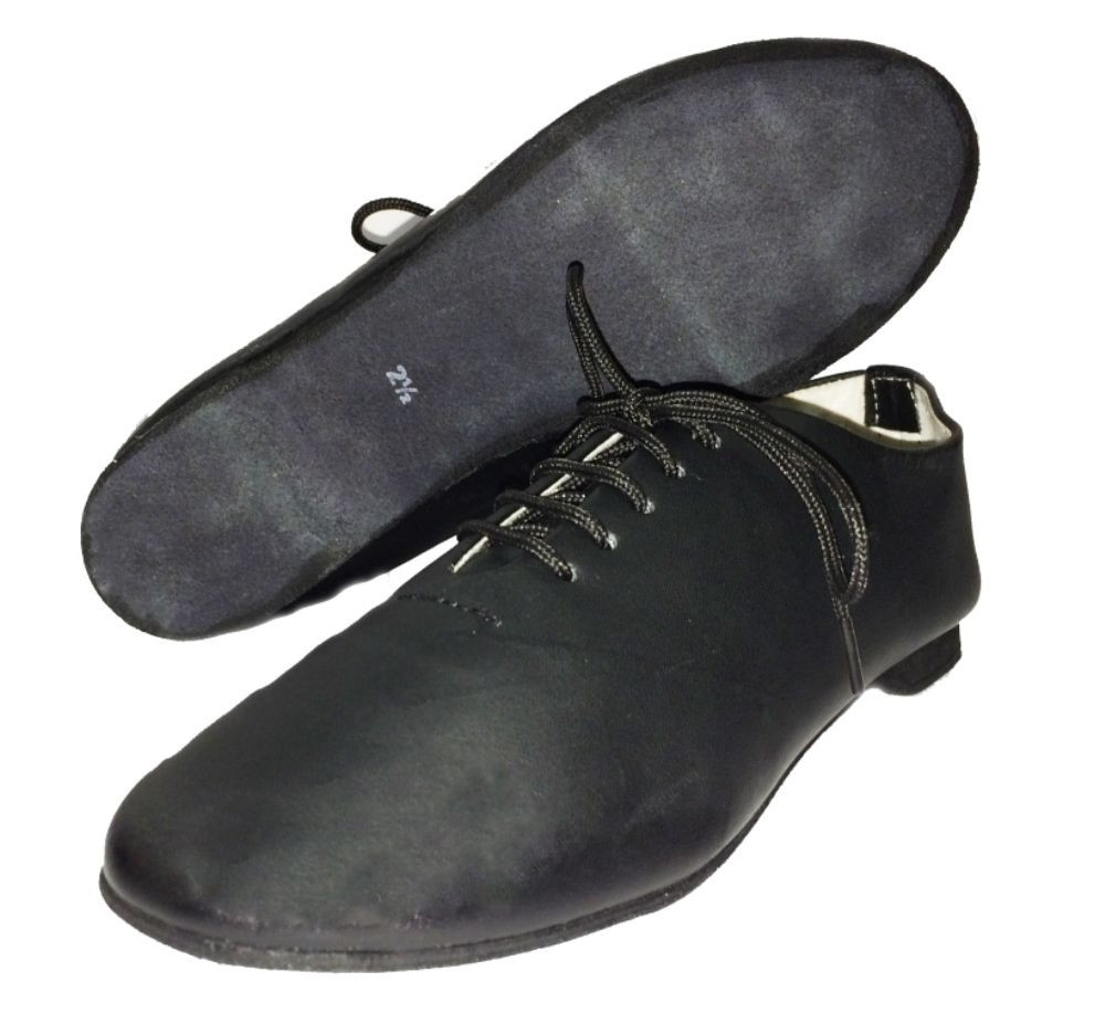 Fresh Jazz Modern Leather Dance Shoes Full Suede sole Leather sole Slippers Of Fresh 46 Models Leather sole Slippers