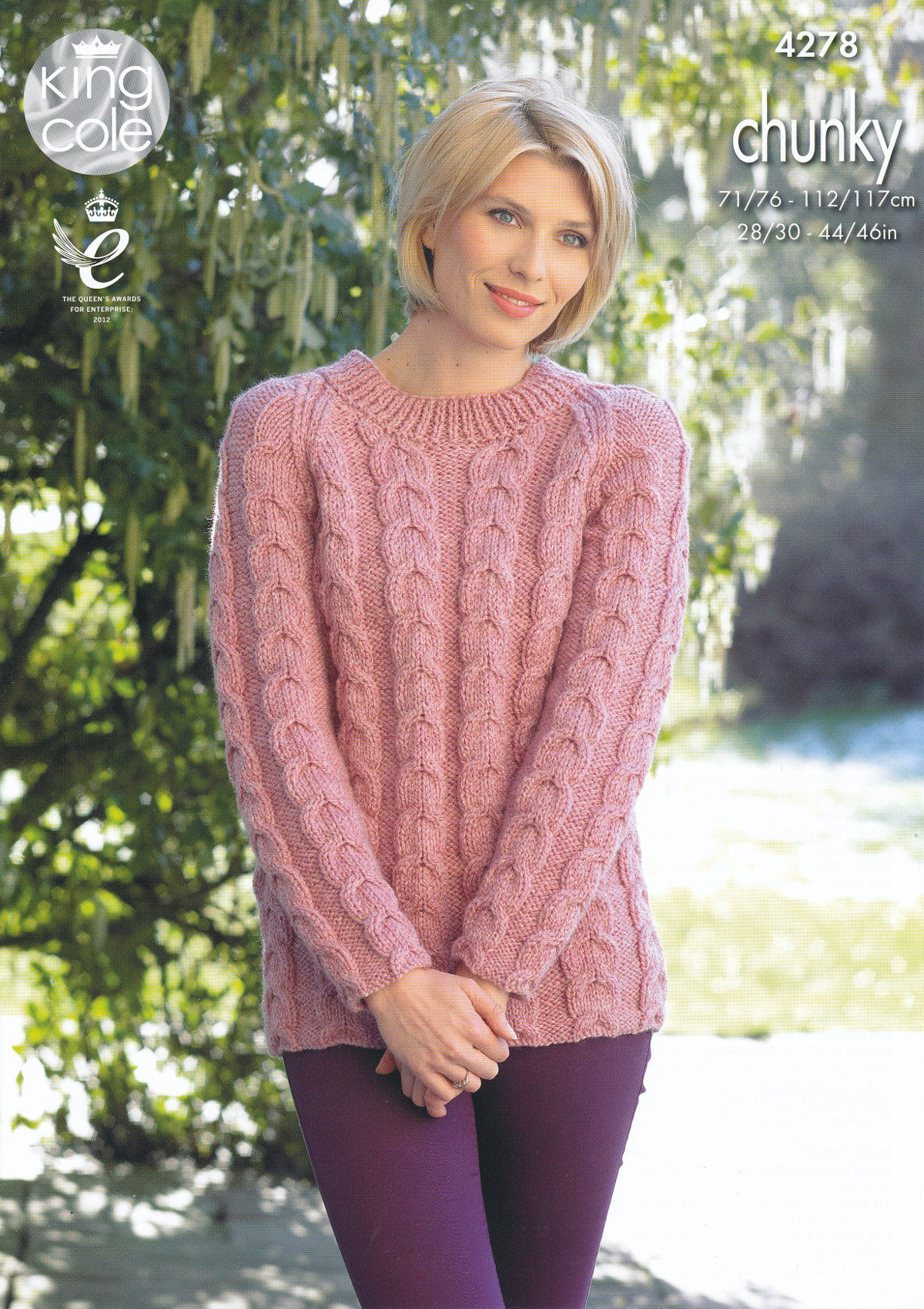 Fresh King Cole Womens Chunky Knitting Pattern La S Cable Knit Chunky Knit Sweater Pattern Of Top 45 Models Chunky Knit Sweater Pattern
