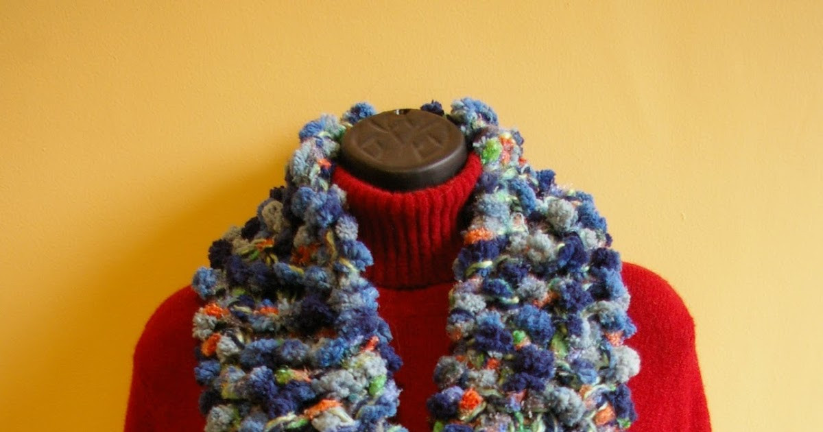 Knit In Your Sleep Pomp A Doodle Scarf