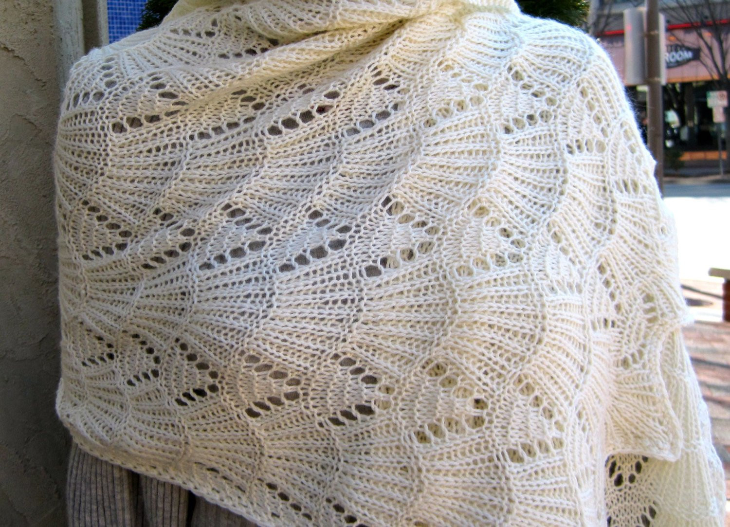 Fresh Knit Shawl Pattern Bavarian Lace Wrap Knitting Pattern Knitted Wrap Pattern Of Adorable 40 Photos Knitted Wrap Pattern
