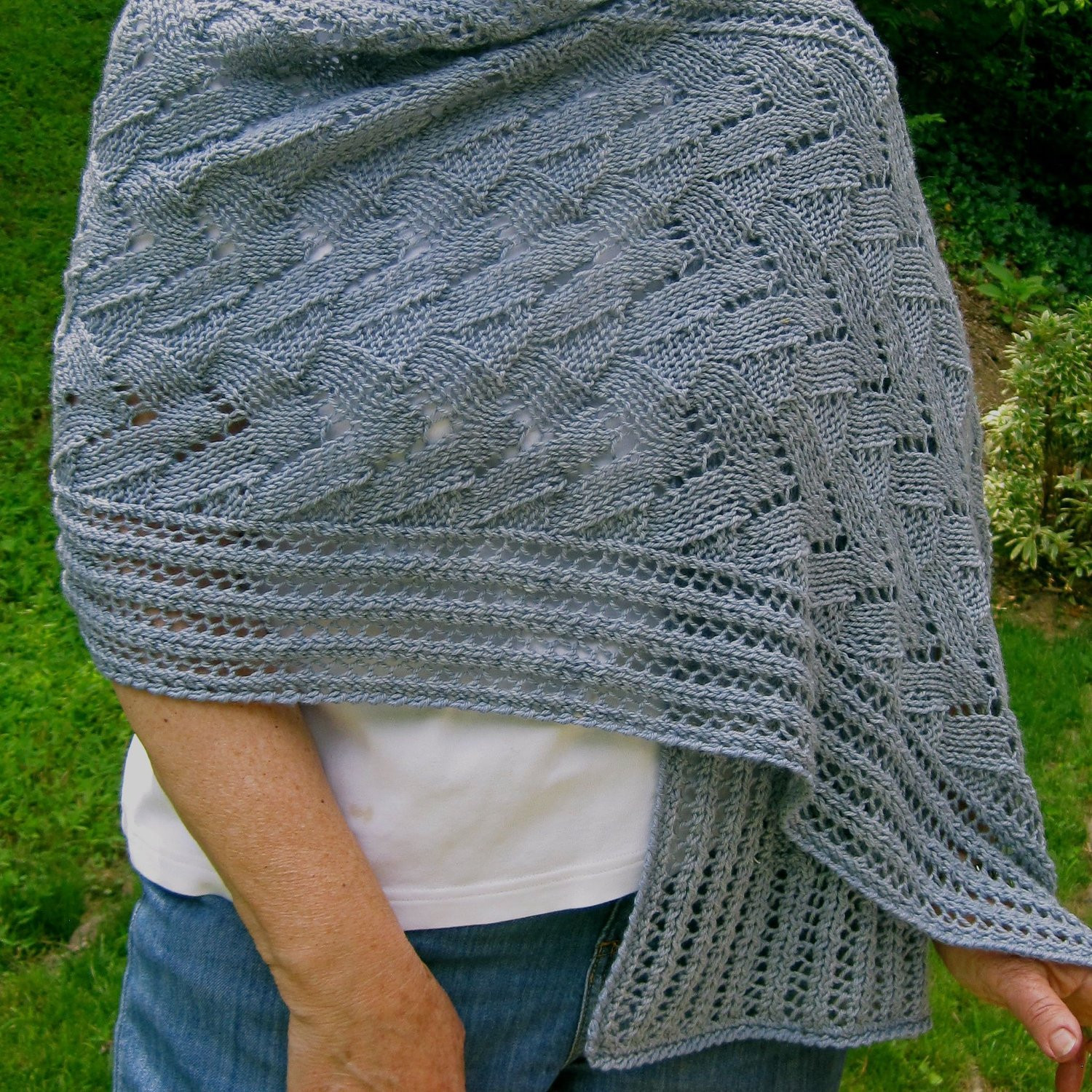 Fresh Knit Wrap Pattern Lace Wings Shawl Knitting Pattern Knitted Wrap Pattern Of Adorable 40 Photos Knitted Wrap Pattern