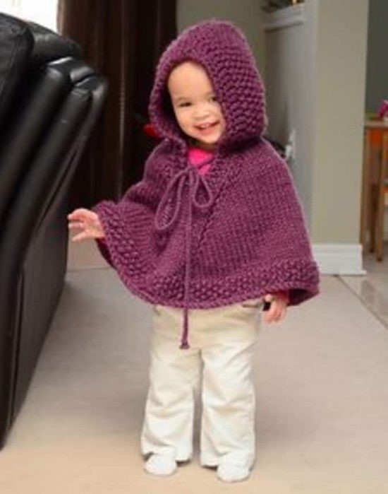 Fresh Knitted Hooded Baby Poncho Pattern Free Crochet Poncho with Hood Of Fresh 40 Pictures Crochet Poncho with Hood