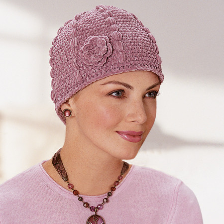 KNITTED PATTERN FOR CHEMO HATS