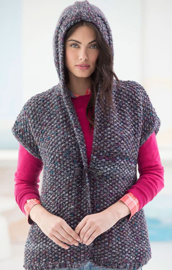 Fresh Knitted Sweaters with Hoods Knitted Vest Of Great 48 Pics Knitted Vest
