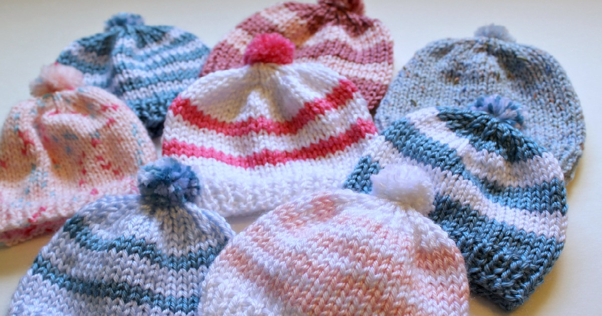 Fresh Knitting Newborn Hats for Hospitals the Make Your Own Zone Infant Knit Hat Of Beautiful 48 Photos Infant Knit Hat