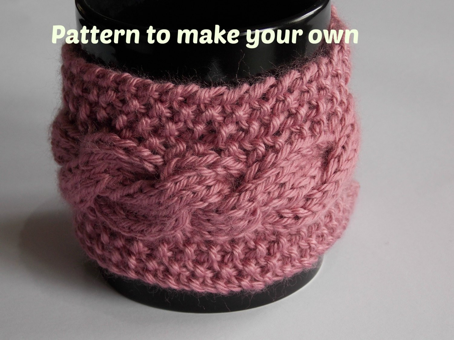 Fresh Knitting Pattern Cabled Coffee Cup Mug Cozy Knit Cable Knit Coffee Cozy Of Luxury 48 Photos Knit Coffee Cozy
