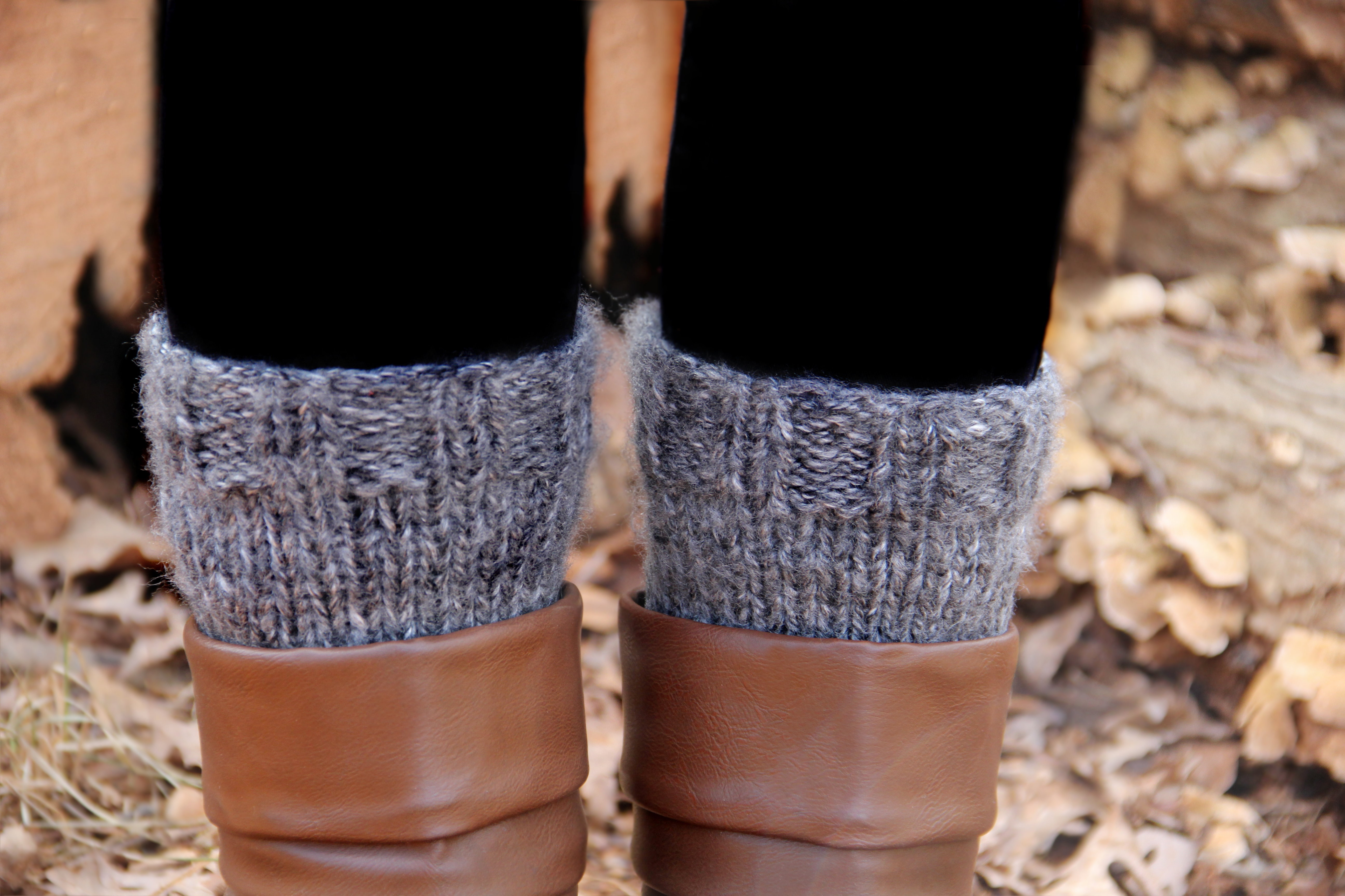 Fresh Knitting Pattern for Boot Cuffs Knitted Boot Cuffs Of Great 41 Photos Knitted Boot Cuffs