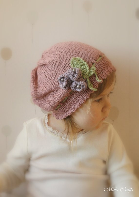 Fresh Knitting Pattern Slouchy Flower Hat Hannah with Crochet toddler Crochet Hat Pattern with Flower Of Luxury 50 Ideas toddler Crochet Hat Pattern with Flower