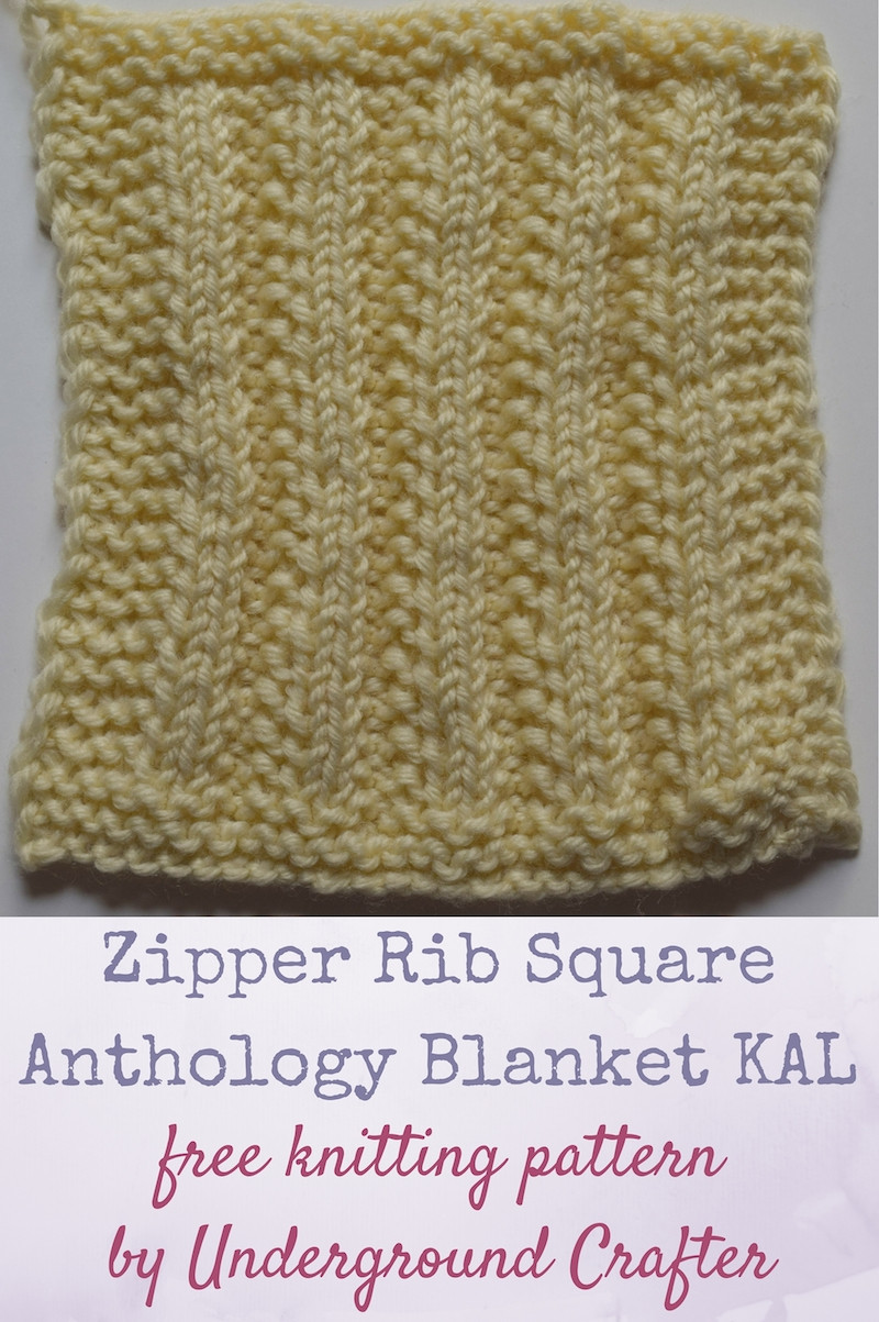 Fresh Knitting Pattern Zipper Rib Square Knitted Square Patterns Of Lovely 50 Models Knitted Square Patterns
