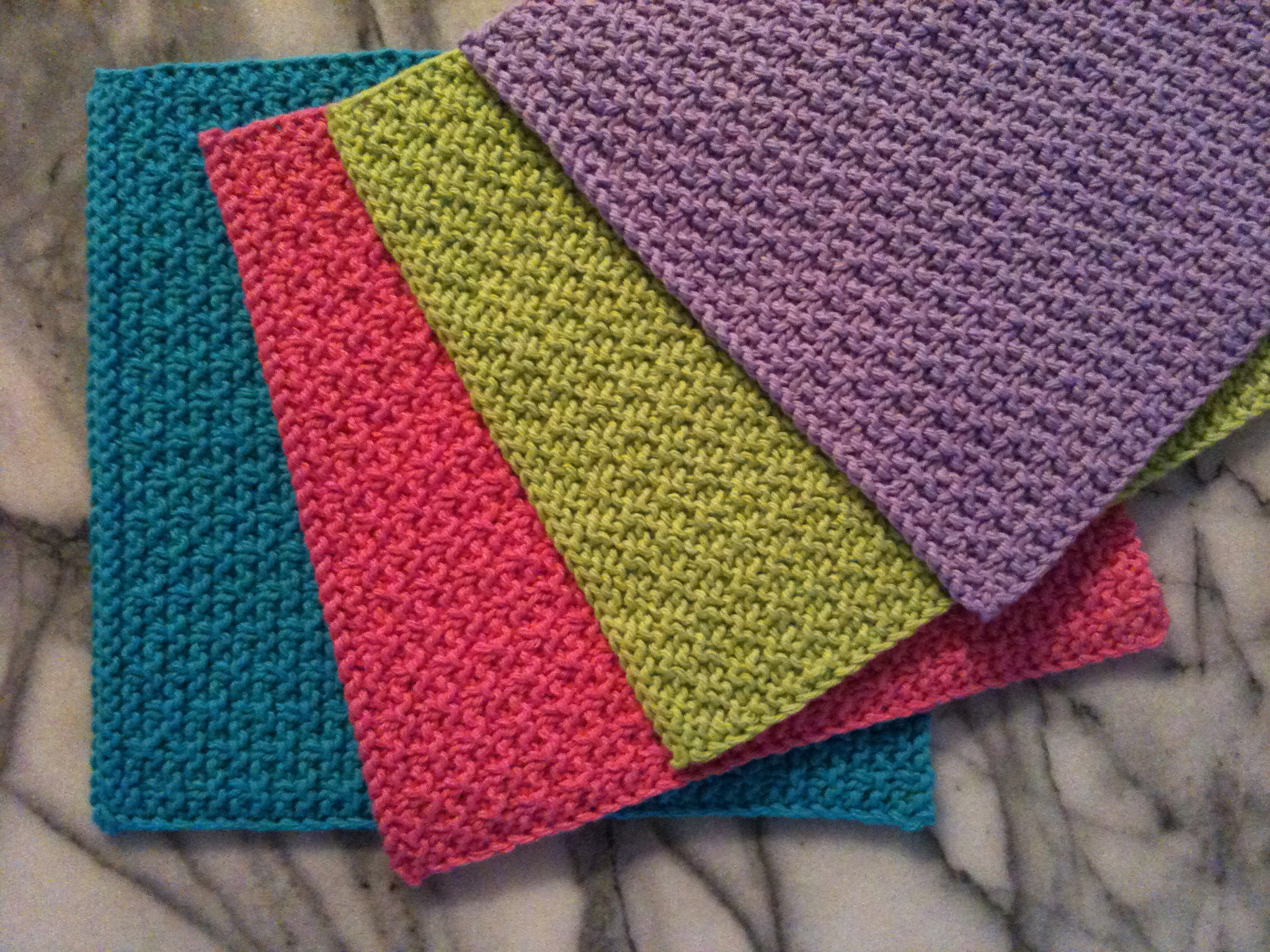 Knitting Patterns Galore Snakes and Ladders Washcloth