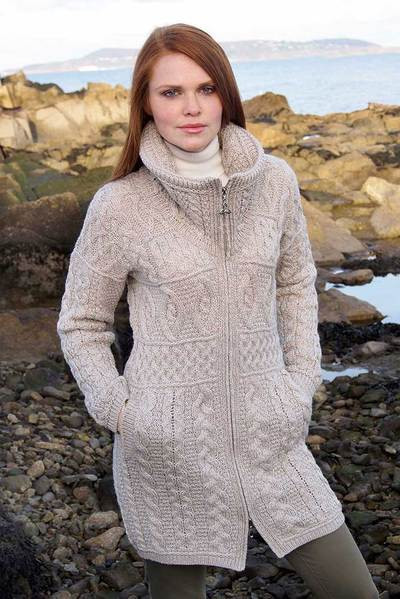 Fresh La S Cable Knit Sweater Coat Aran Sweaters Direct Ladies Cable Knit Sweater Of Charming 49 Photos Ladies Cable Knit Sweater