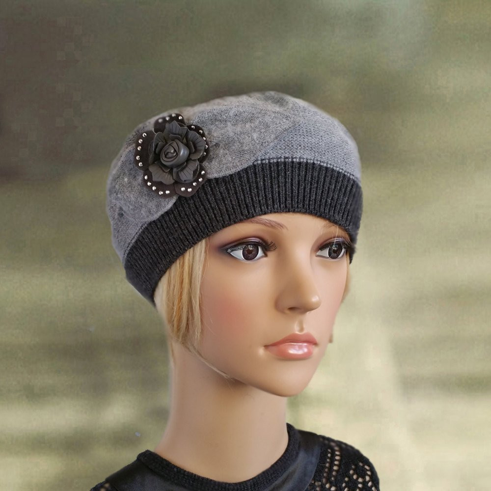 Fresh La S Knit Beret Womens Knit Beanie Women S Wool Hat Knit Beret Of Beautiful 41 Models Knit Beret