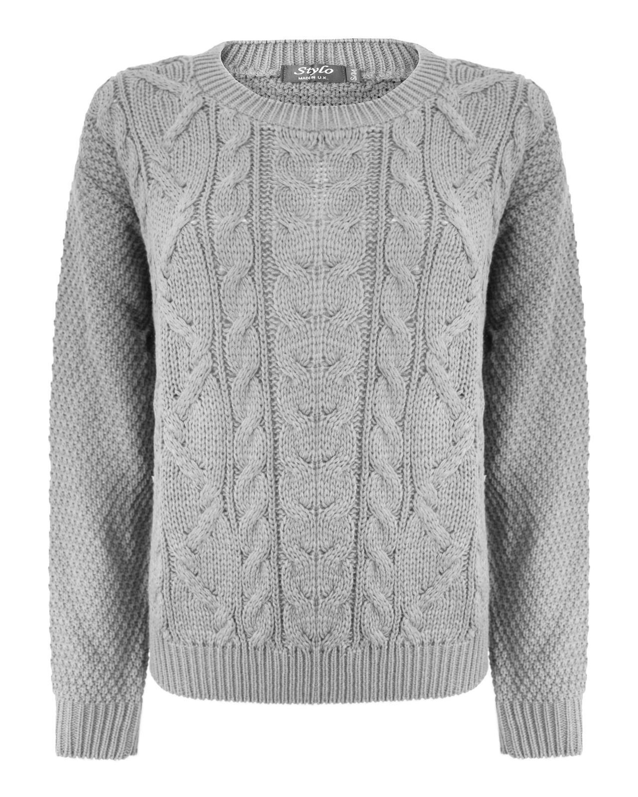 Fresh La S Women Knitted Long Sleeve Cable Knit Jumper Baggy Cable Knit Cardigan Sweater Of Wonderful 46 Models Cable Knit Cardigan Sweater