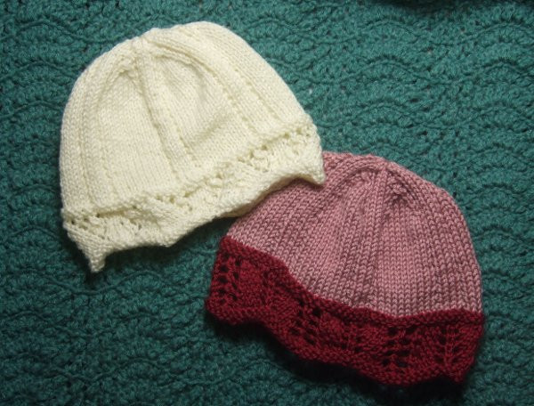 Fresh Laced Edged Chemo Caps for Straight Needles Charity Knitted Chemo Hats Of Incredible 50 Models Knitted Chemo Hats