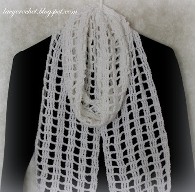 Fresh Lacy Infinity Scarf Crochet Lace Scarf Pattern Of Great 44 Pictures Crochet Lace Scarf Pattern