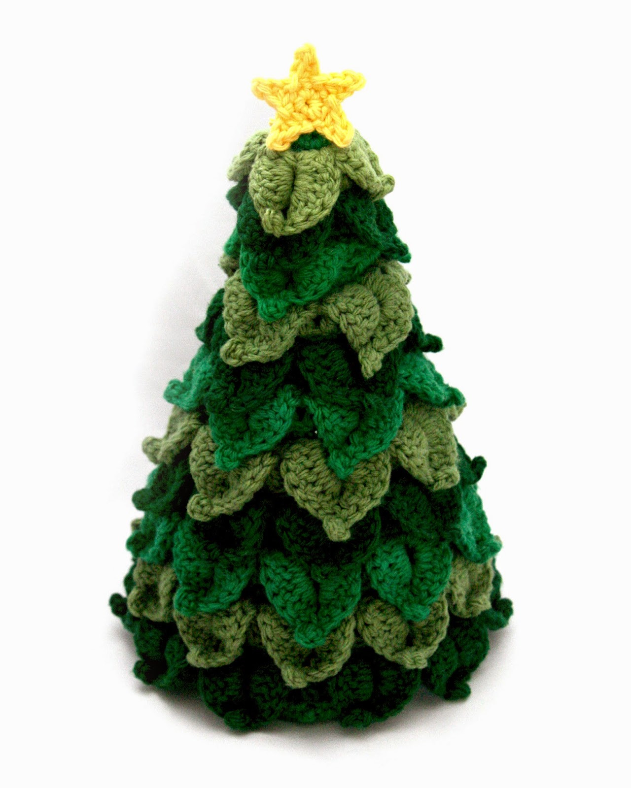 Little Abbee O Crochet Christmas Tree Crochet TUTORIAL